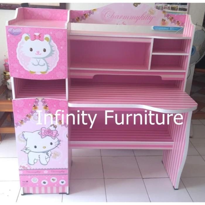 Jual Meja Belajar Karakter Charmy Kitty Sd 2331 Ckt Kota Tangerang Infinity Furniture Tokopedia