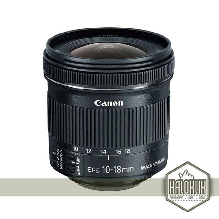 harga Canon lensa ef s 10-18mm f/4.5-5.6 is stm black (garansi resmi) Tokopedia.com