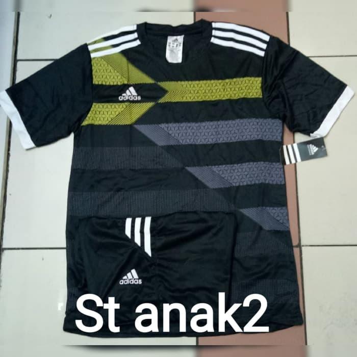 harga Setelan stelan futsal kids anak kecil jersey baju kaos ac milan 3rd Tokopedia.com