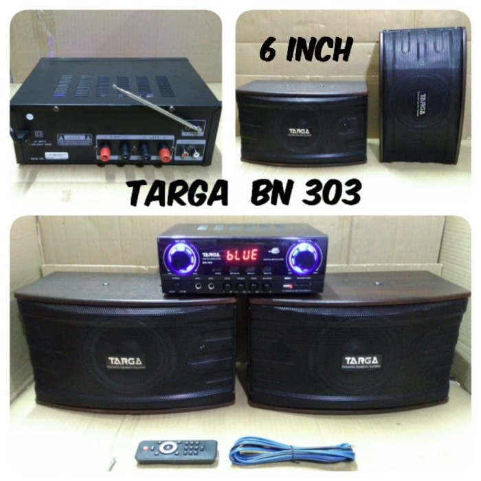 Home Theater Minimalis: Jual Paket Karaoke Targa Bn303 Home Theater Bluetooth