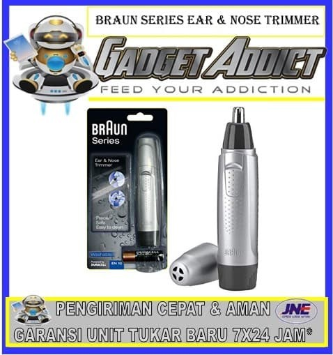 harga Braun ear and nose trimmer en10 Tokopedia.com