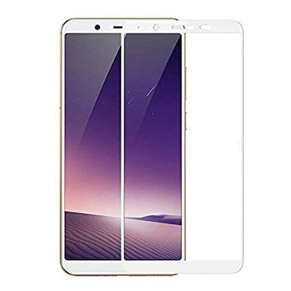 TATA Tempered Glass VIVO Y71 Full Color Anti gores kaca Screen Guard - Putih