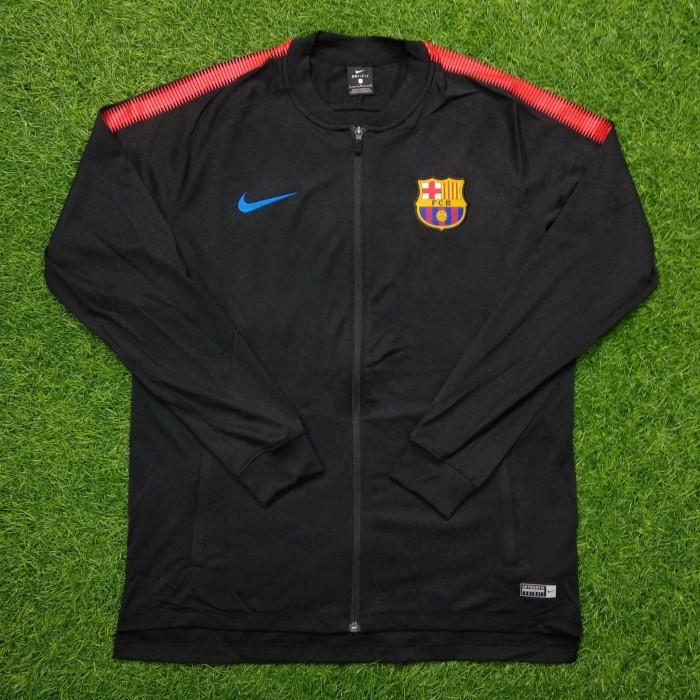 0c9df04ee Original anthem jacket barcelona home 2017-18 bnwot jaket bola asli