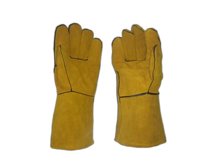 harga Sarung tangan las kulit 14 inch Tokopedia.com