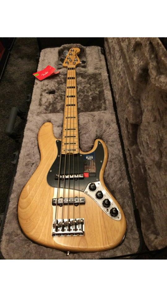 harga Fender american elite jazz bass v mn ash natural Tokopedia.com
