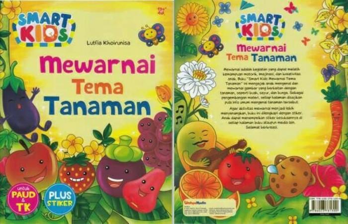 Jual Smart Kids Mewarnai Tema Tanaman Limited Broter Shop7 Tokopedia