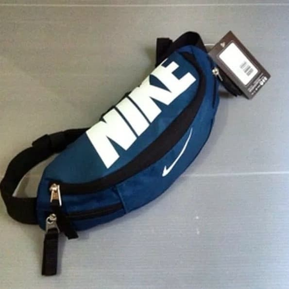 harga Nike waistpack blue-white logo Tokopedia.com