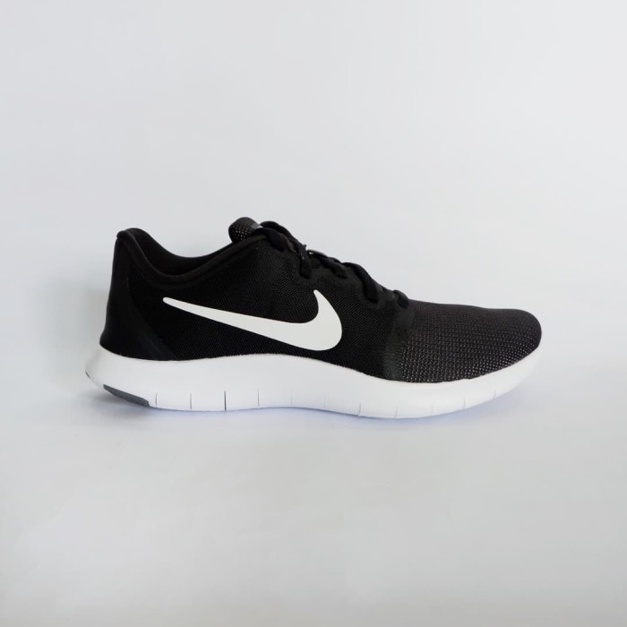 best service 310d5 a3aa4 Sepatu Running Nike Flex Contact 2 - Black White-Cool Grey