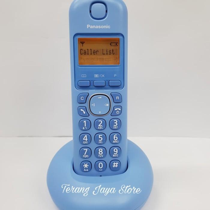 harga Telepon wireless panasonic kx-tgb210 (biru) telepon rumah kx-tgb 210 Tokopedia.com