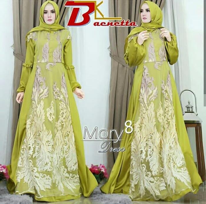 Baju Muslim Original Gamis Nadia Dress Baju Balotelly Baju Teusan ... a6514c7280