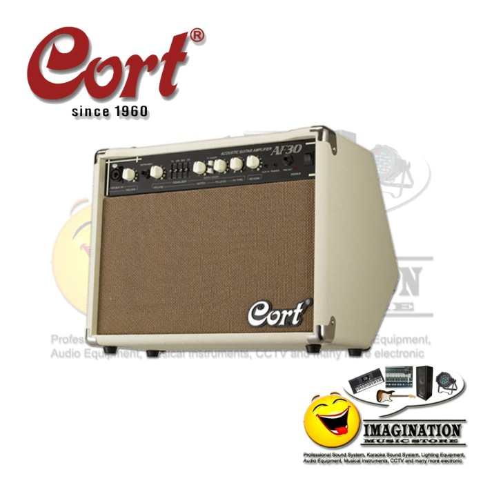 harga Cort af30 acoustic guitar amplifier Tokopedia.com