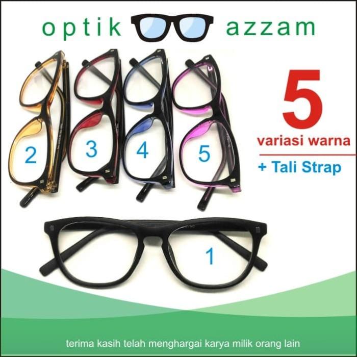 Jual Kacamata Korea Cat Eye 5 Variasi Warna  7100ec8bcf