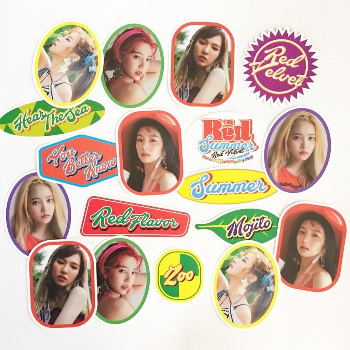 (SUM) Red Velvet - The Red Summer Sticker Luggage Set