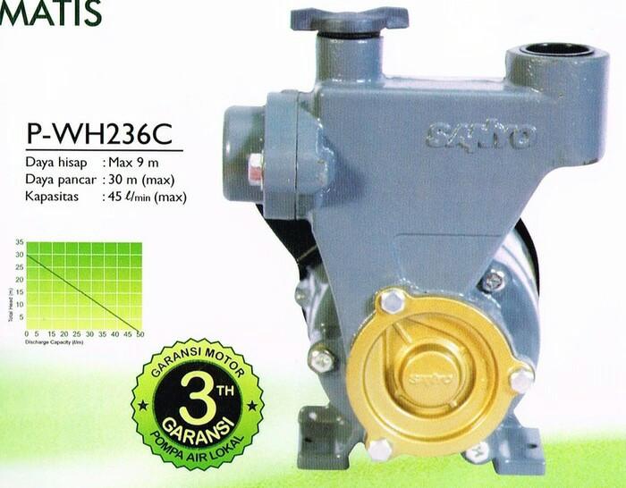 Jual Pompa air Sanyo 200 watt Pwh 236 c - Kota Tangerang ...