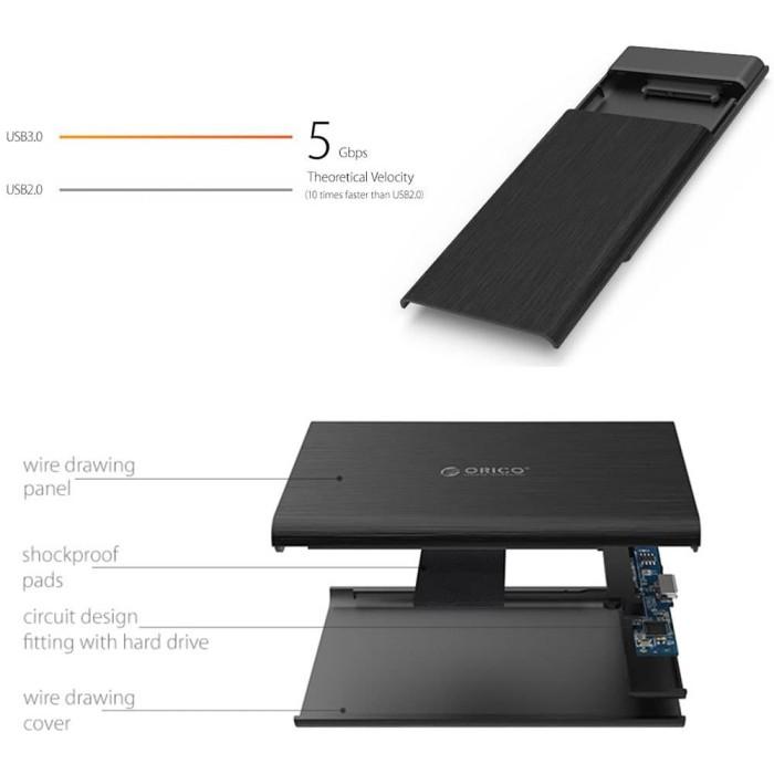 Case Hardisk Sata 25 Case HDD Sata 2,5 To Usb 3 Case Hard disk Sata 2,