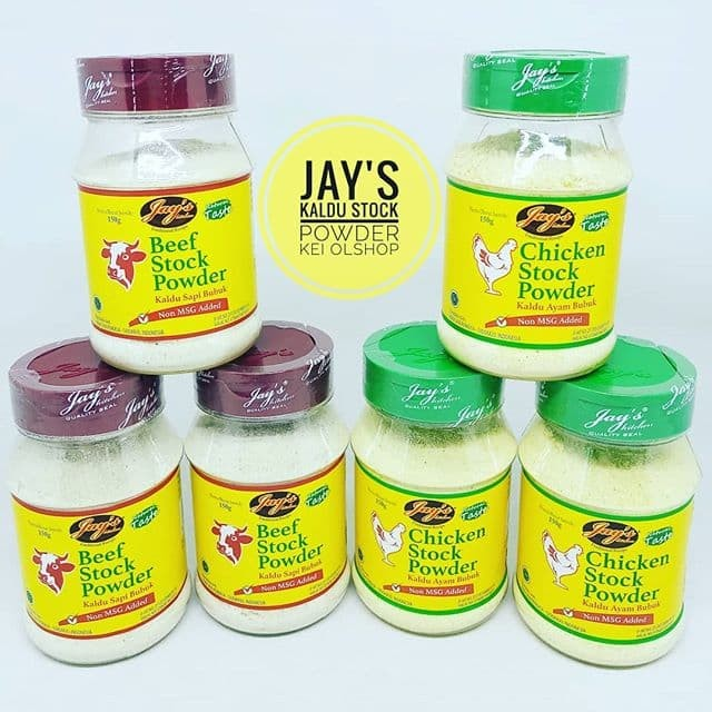 harga Kaldu ayam non msg jay's chicken stock powder Tokopedia.com