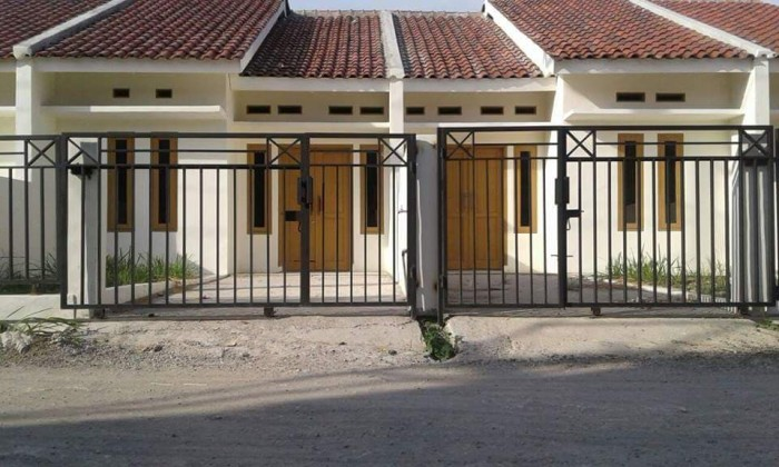 Jual Pagar Garasi Rumah Minimalis Kota Tangerang Selatan Jayalass Tokopedia