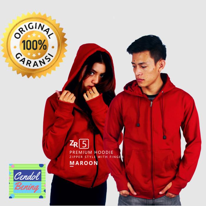 Premium Jacket Zipper Hoodie Tebal Jaket / Sweater Polo /Busana Muslim
