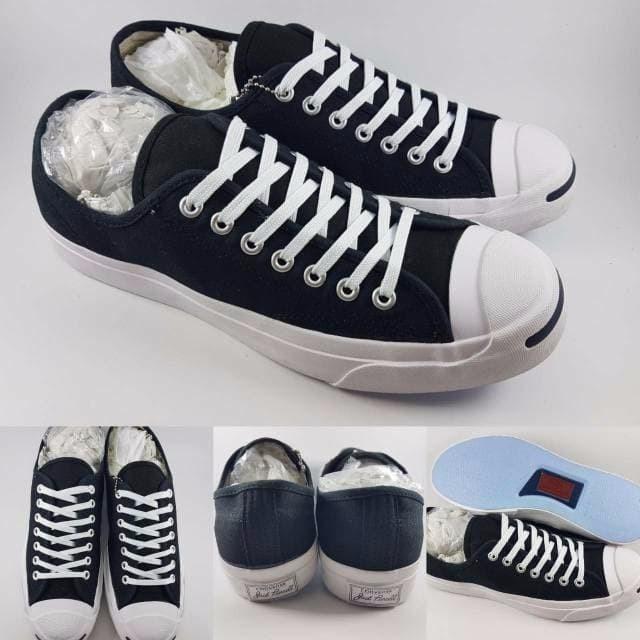 6c8b8cdbb08049 Jual Sepatu Kets Converse All Star Jack Purcell Classics Canvas Low ...