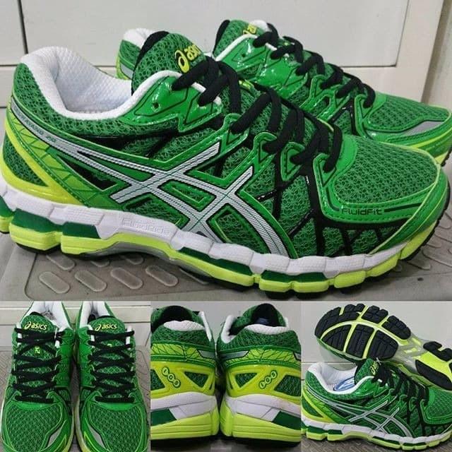 Jual Sepatu Lari Running Jogging Fitness Asics Gel Kayano 20 Green ... da0077e0ce