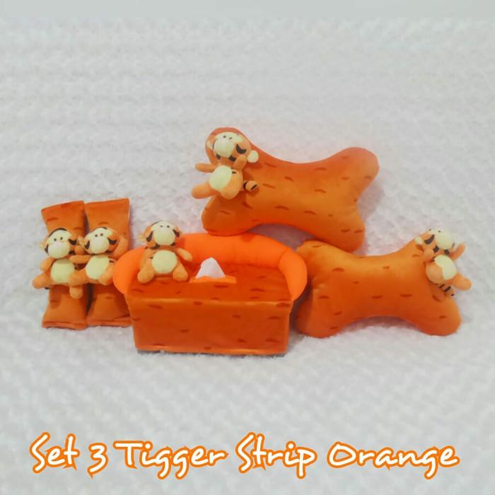 harga Bantal mobil 3 in 1 boneka tiger strip orange Tokopedia.com