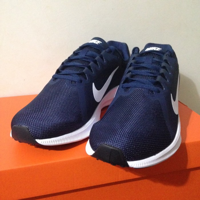 Sepatu Running/Lari Nike Downshifter 8 M MIdnight Navy 908984-400 Ori