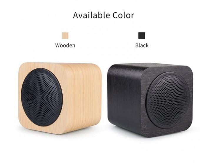 harga Original avwoo cube mini wooden bluetooth speaker a008 - olb1774 Tokopedia.com