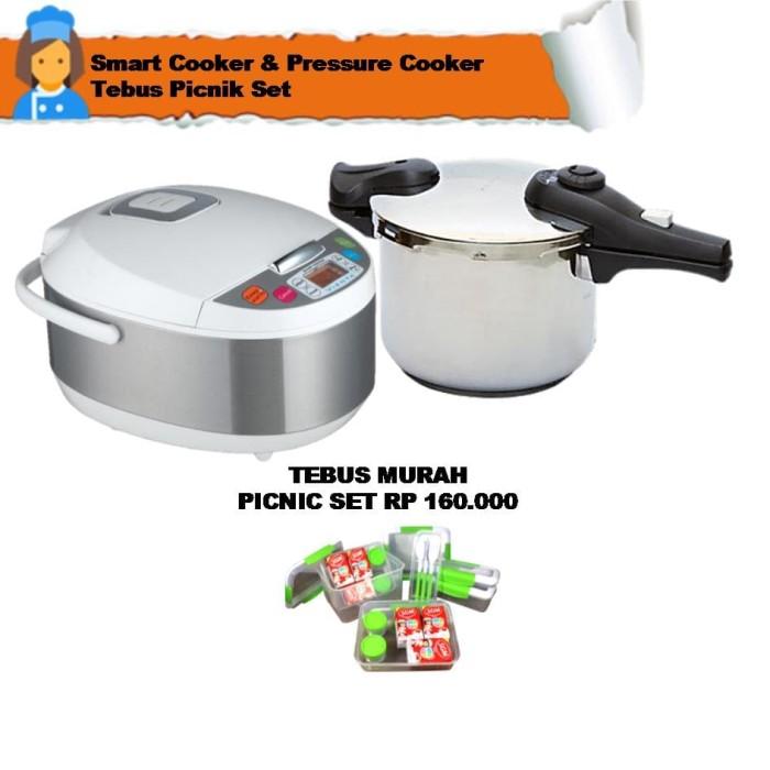 smart cooker & pressure cooker tebus picnik set