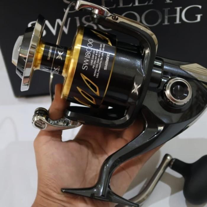 harga Shimano stella sw 18000 hg spin fishing reel Tokopedia.com