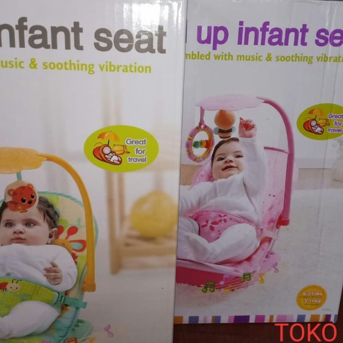 MASTELA FOLD UP INFANT SEAT KURSI BAYI NO PLIKO SUGAR BABY BABYELLE - 3-11