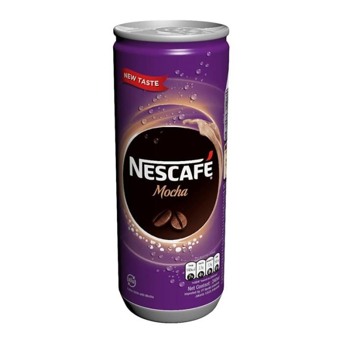 harga Nescafe mocha can 240ml [8 pcs] Tokopedia.com