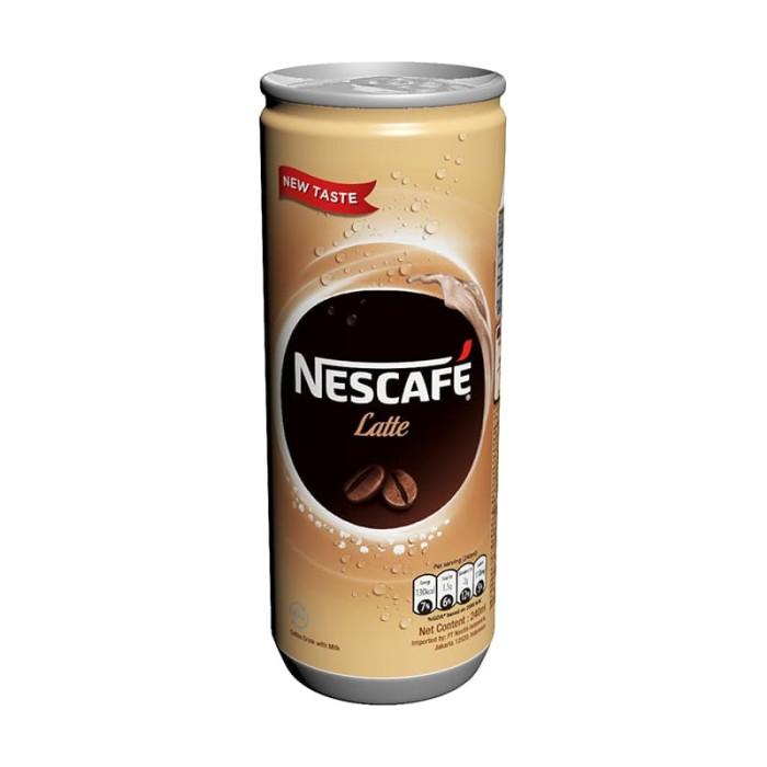 harga Nescafe latte can 240ml [8 pcs] Tokopedia.com