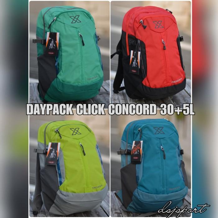 harga Daypack backpack click concord 30+5l tas laptop sekolah kuliah murah Tokopedia.com