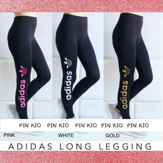 Jual Celana Olahraga Wanita Legging Adidas Import Leging Sport Running Putih Jakarta Barat Pin Kio Tokopedia