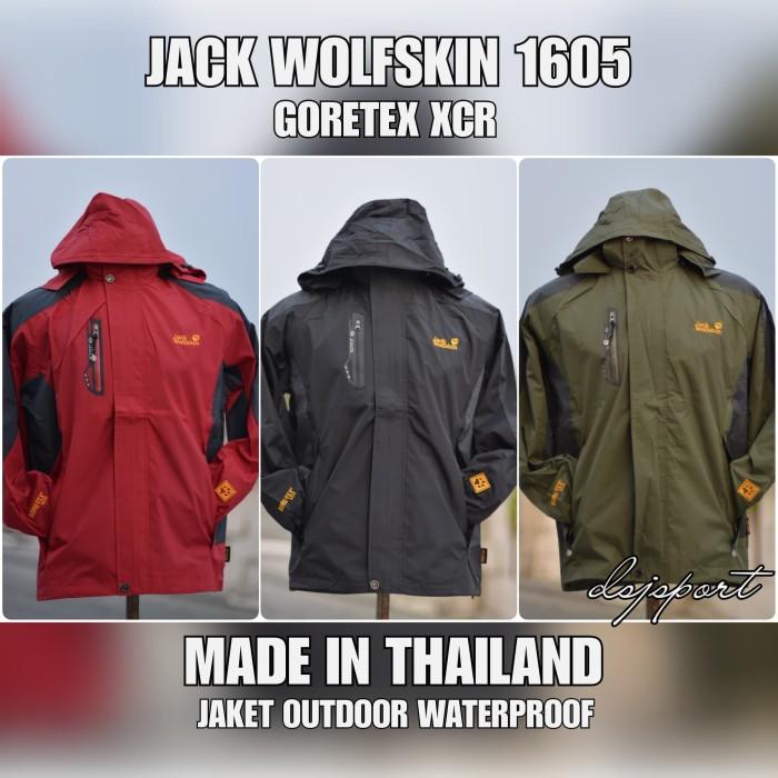 Jual JAKET GUNUNG JACK WOLFSKIN 1605 GORE-TEX WATERPROOF - DJIEPY ... abc92d7659