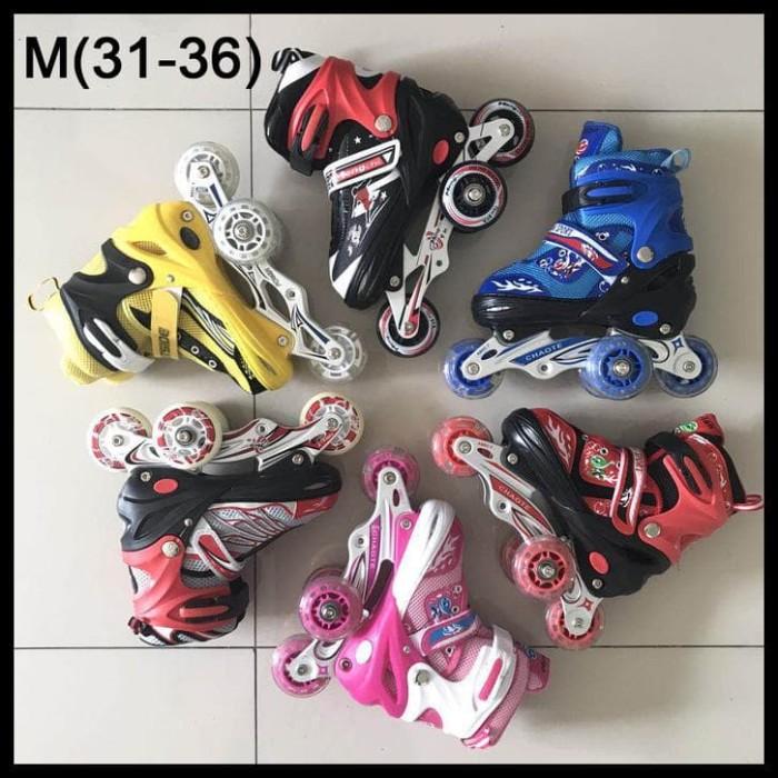 Jual Sepatu Roda Anak Power Power Inline Skate SUPERB Model BAJAJ ... 2b3dd4e0ba