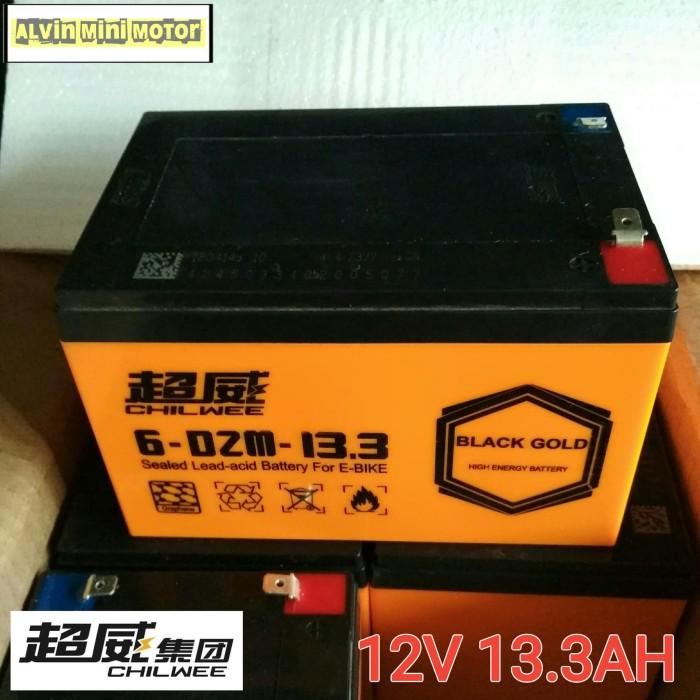 harga Battery chilwee 12v 13.3ah baterai sepeda listrik aki skuter elektrik Tokopedia.com