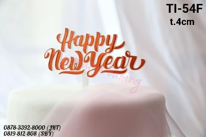 Happy New Year Orange 22