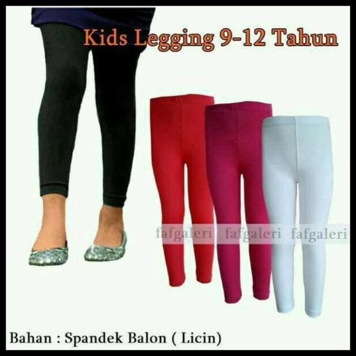 Jual Celana Leging Anak Bahan Spandek Licin 9th 12th Jakarta Barat Hamdan Mode Tokopedia