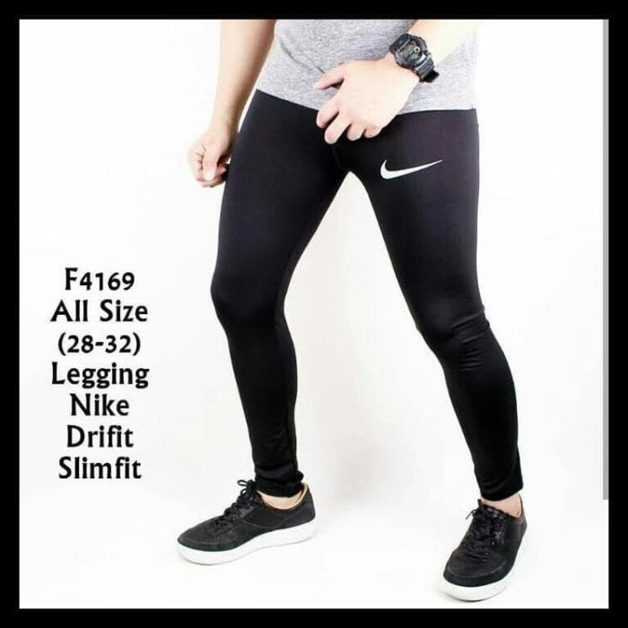 Jual Celana Legging Pria Nike Sport Gym Fitnes Jakarta Selatan Lavina Mode Tokopedia
