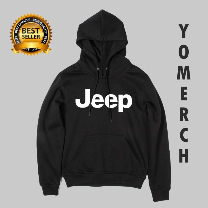Jual Hoodie JEEP Jaket Sweater keren Pria Wanita Yomerch - INDOSHOP ... ab4d673529