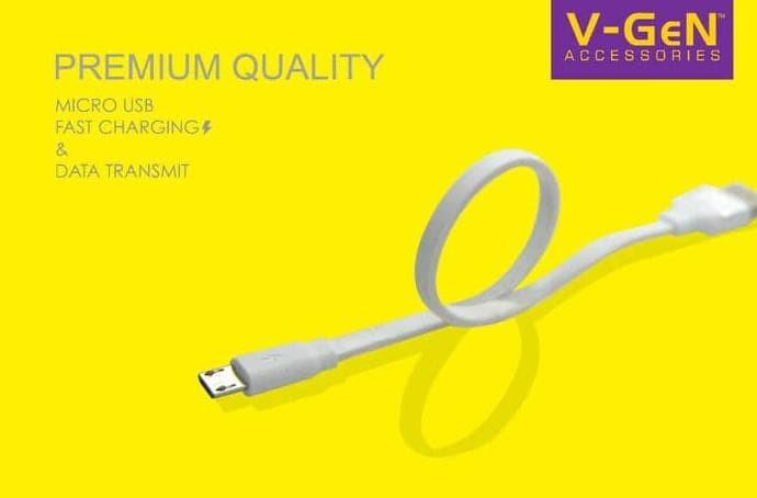 Kabel Data Power bank Vgen 20CM Samsung Sony Xiaomi Asus Lenovo Oppo -