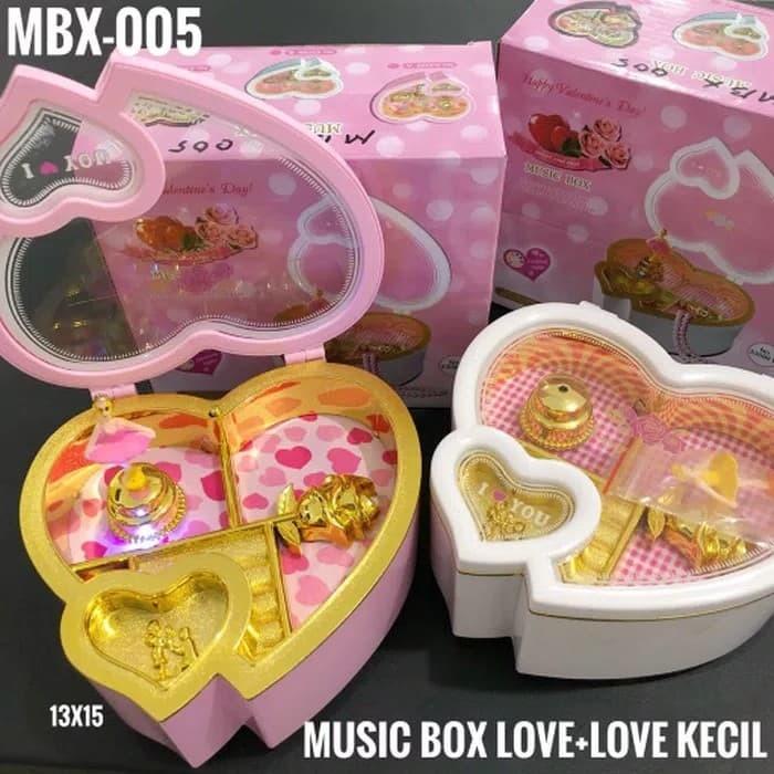 MUSIC BOX LOVE BESAR BALLERINA / DOUBLE LOVE / KOTAK MUSIK