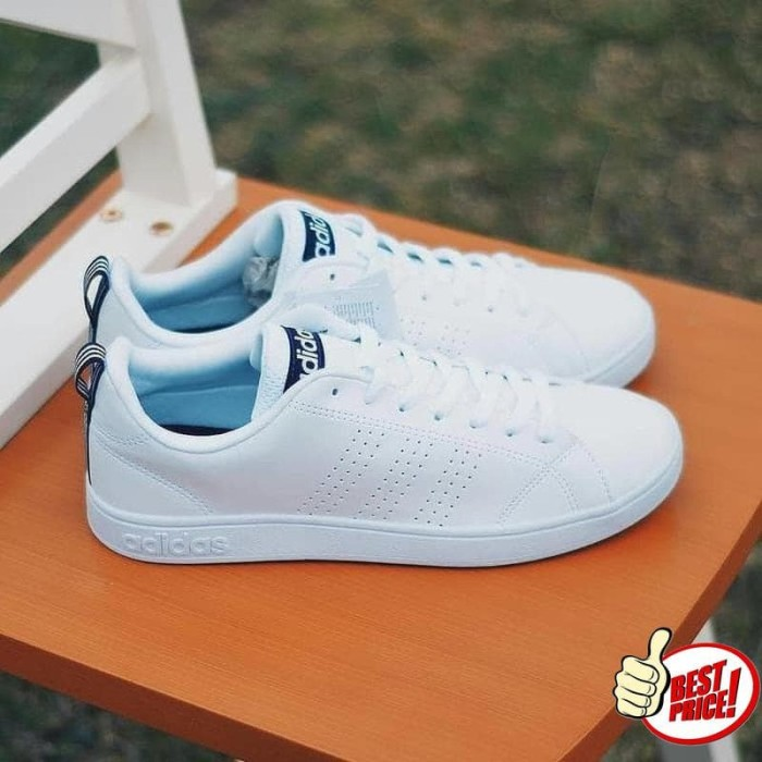 815425f9d35d ... clearance adidas neo advantage clean white navy original indonesia  97354 c0bd5 sweden sepatu original adidas neo advantage white list green ...