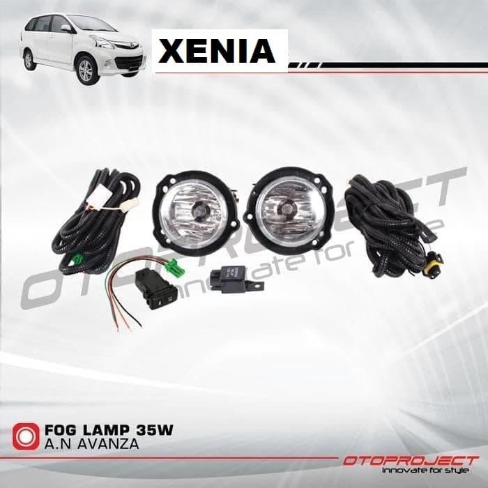 harga Foglamp xenia 12 - 14 / lampu kabut xenia 2012 - 2014 Tokopedia.com