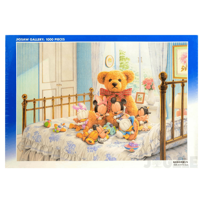 harga Tenyo d-1000-227 disney babies- morning angels 1000pcs jigsaw puzzle Tokopedia.com