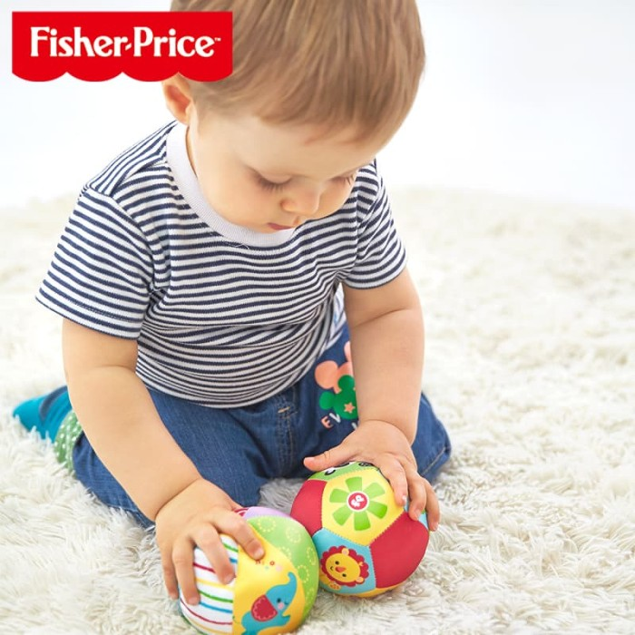 Foto Produk MAINAN BAYI FISHER PRICE RATTLE BALL / FISHER PRICE BOLA KRINCINGAN / dari Bintaro Baby Shop