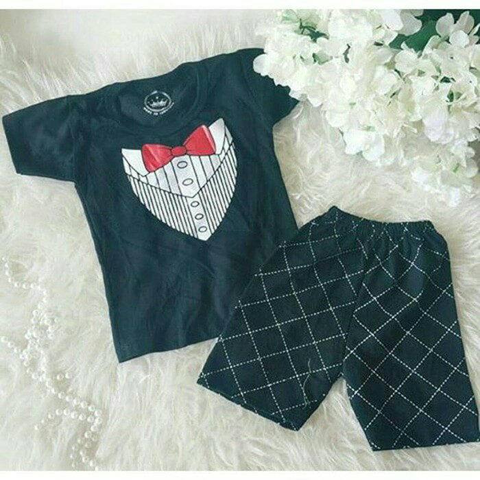 harga Baju pesta bayi / jumper tuxedo baby Tokopedia.com