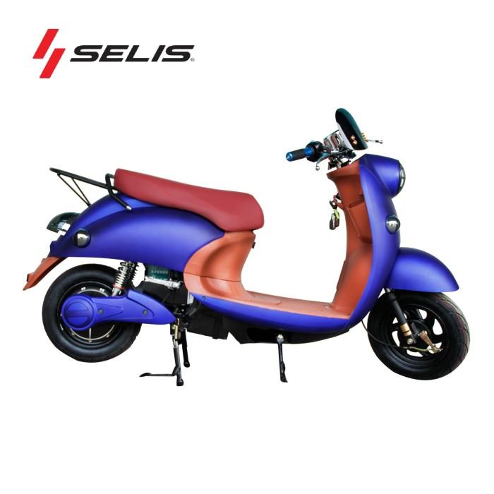 harga Motor listrik selis tipe scootik - biru Tokopedia.com