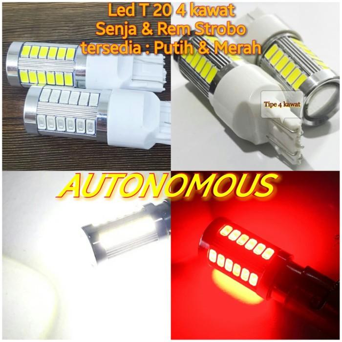 Foto Produk Lampu Led senja rem mode strobo Tancep T20 - Putih, 0 dari AUTONOMOUS